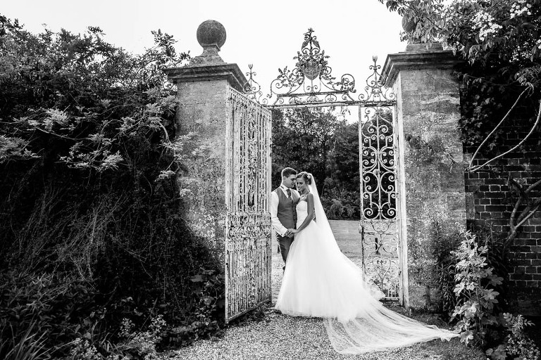 Stylish Wedding Photography by Surrey Wedding Photography Easthampstead Park couple Portrait