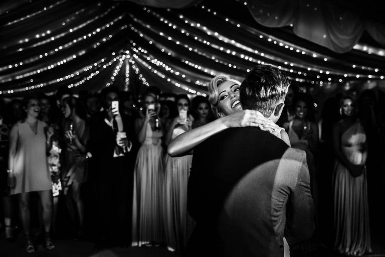 First Dance by Stylish Wedding Photography - Surrey Wedding Photographer