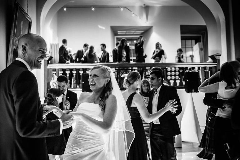 Farnham Castle Wedding - First Dance - by Stylish Wedding Photography